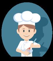 Cocina profesional y casera en nuestros campamentos y semanas de inglés