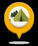 Icono naturaleza, campamentos de Verano